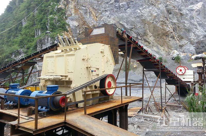 河北煤矸石破碎生产线图片