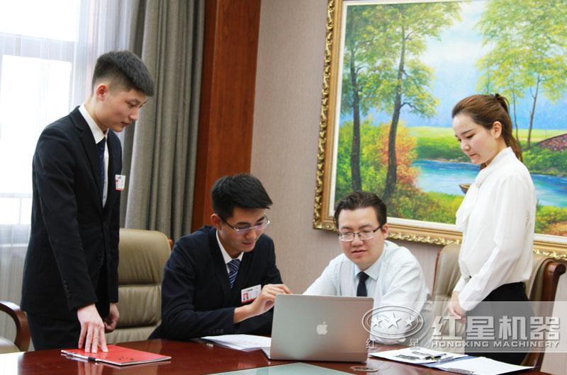 河南红星厂家为客户量身定制砂石料生产线方案