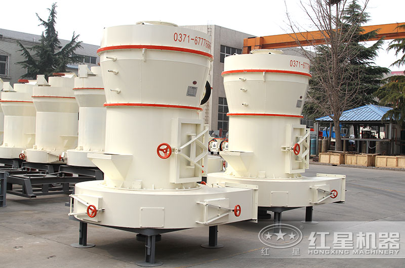 石粉磨粉机设备图片