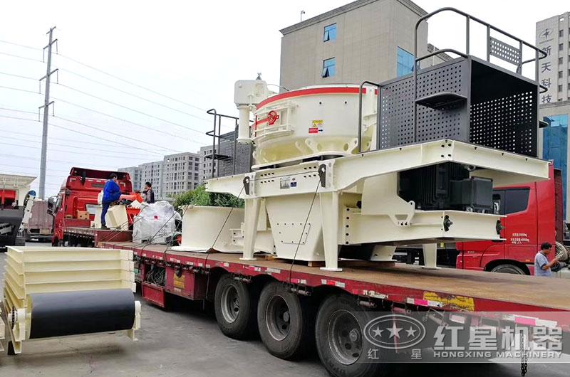 新一代HVI打砂机现货发往山东