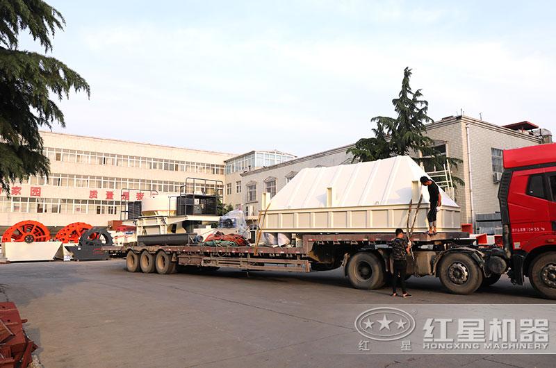 时产300吨的制砂设备发货