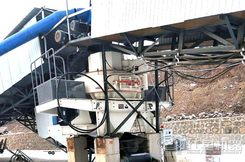 环保型制砂机:时产12-650吨