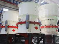 鹅卵石圆锥破碎机时产300吨多少钱一台?有没有现场视频