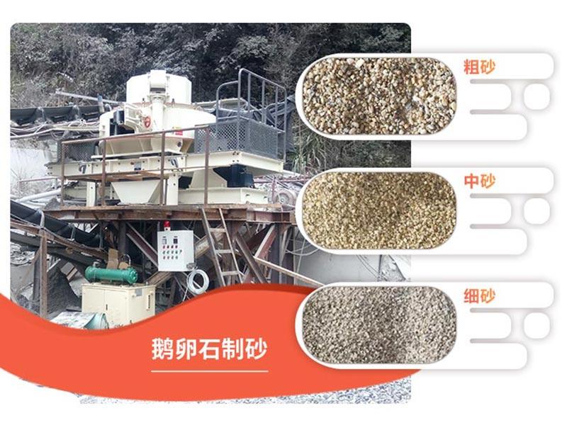 不同规格成品机制砂