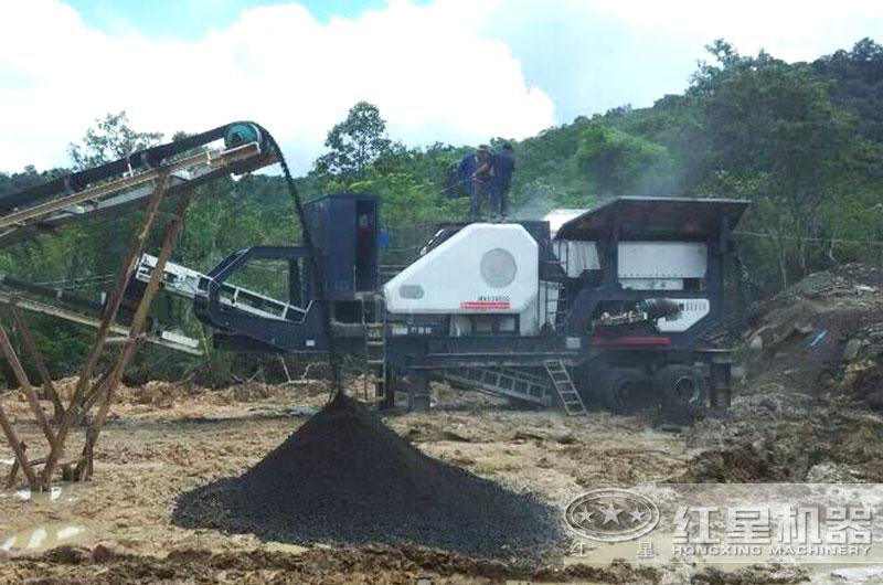 移动式煤炭破碎机图片