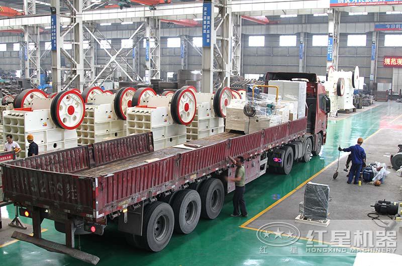 全套日产万吨石子加工设备发货中