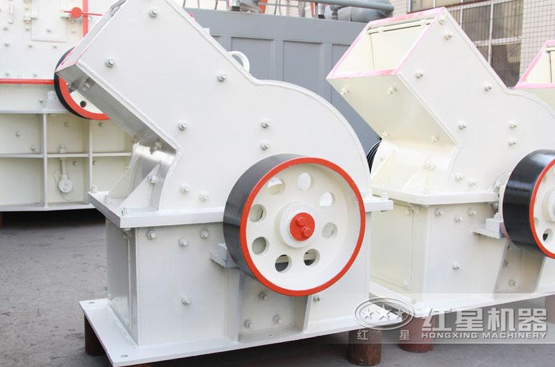 锤式破碎机:适用于中小型产量生产线