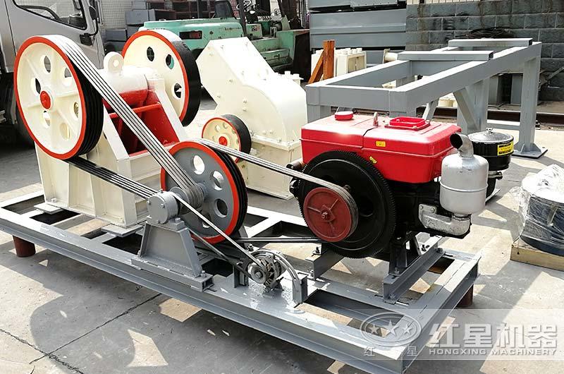 颚式破碎机可配置柴油机
