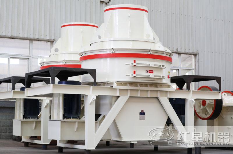 直通冲击式制砂机,体积小,适用于中小型厂家