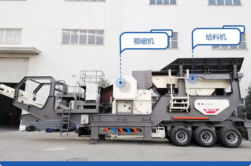 二合一配置移动砂石料生产线