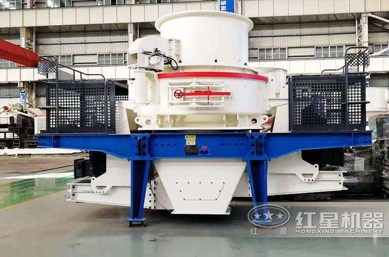 新型HVI冲击式制砂机,碎沙粒度更均匀