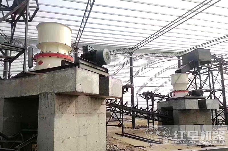 浙江客户石头粉碎厂