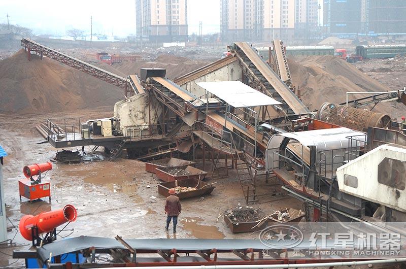 建筑垃圾处理厂