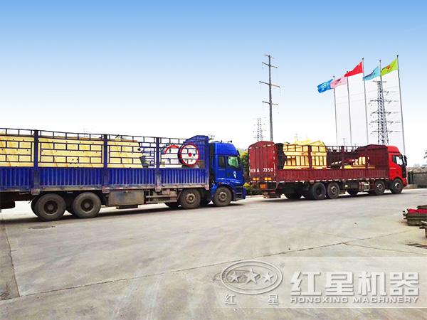 全套石料生产线设备发货