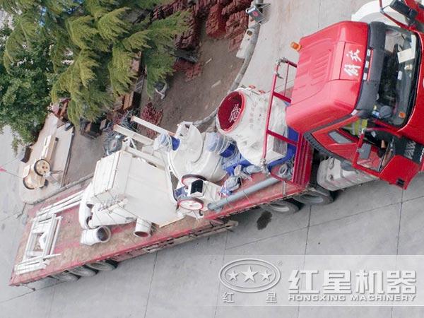 钾矿石加工设备发货