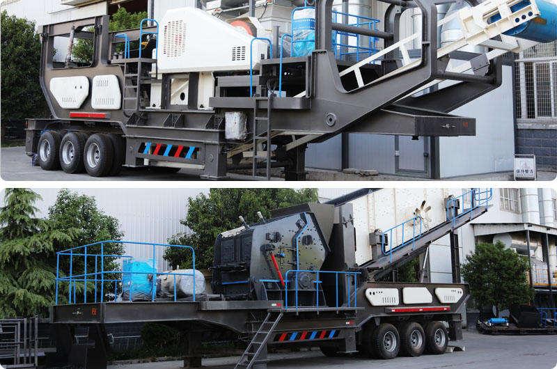 移动式砖渣子破碎机提高生产效益60%