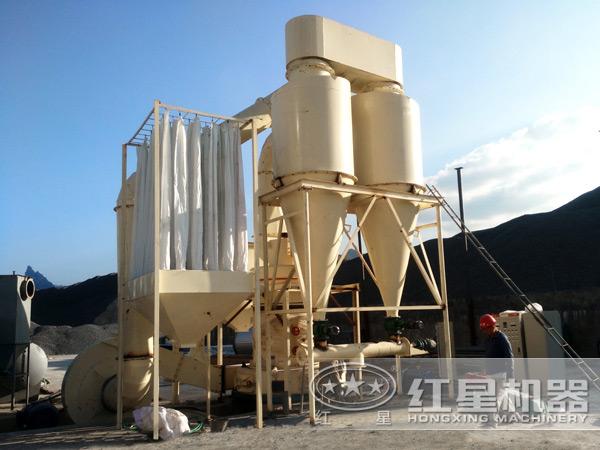 滑石岩磨粉生产线