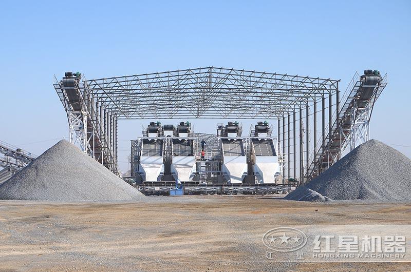 河北客户砂石生产线