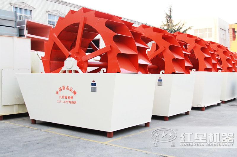洗砂机可实现水循环利用,洗净度高达95%