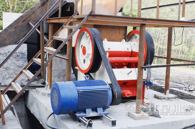 砂石破碎生产线配置发电设备