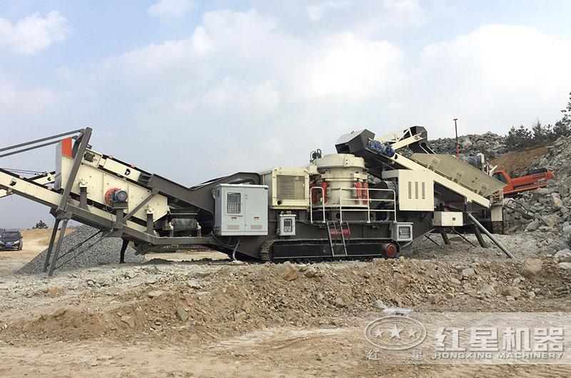 浙江150吨建筑垃圾处理项目