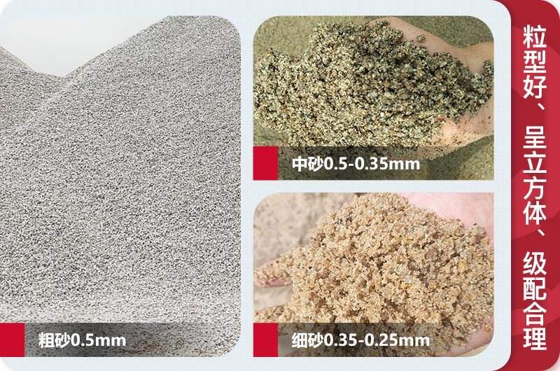 建筑砂成品规格