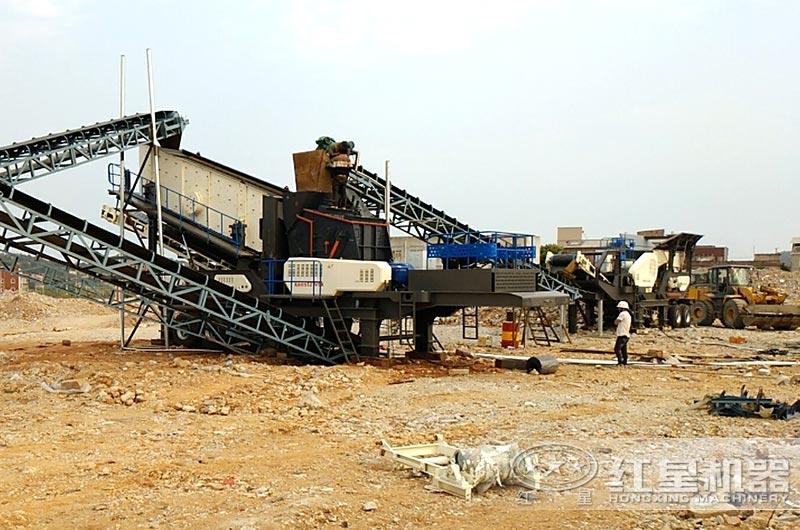 西安客户中小型建筑垃圾处理厂