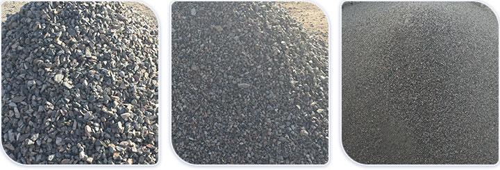 碎沙成品图,是否达到您的物料要求?