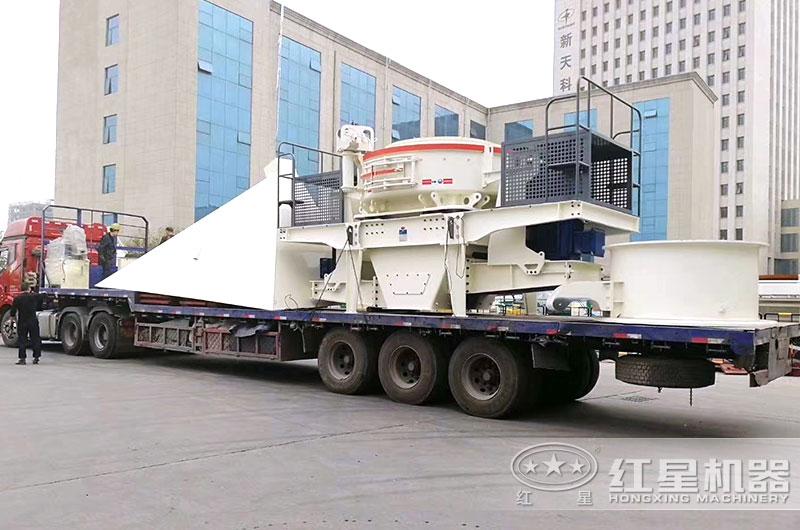 人工制砂设备发货