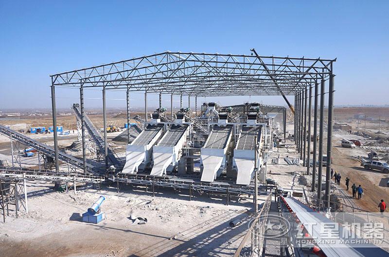 时产1000吨碎石生产线