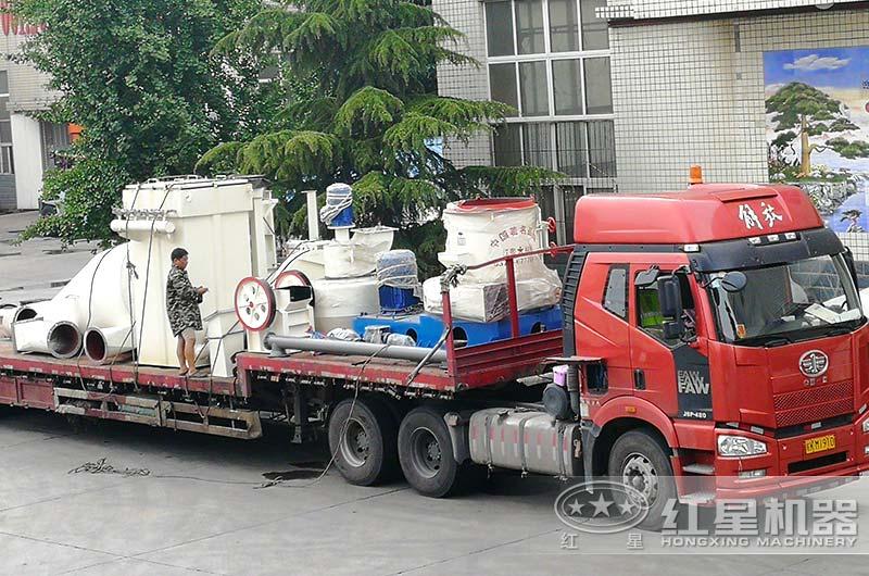 滑石磨粉生产线设备发货