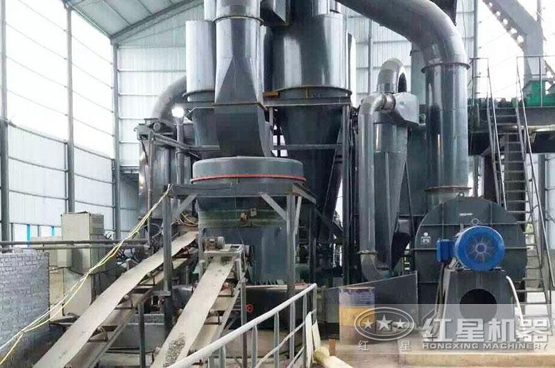 高岭土磨粉生产线