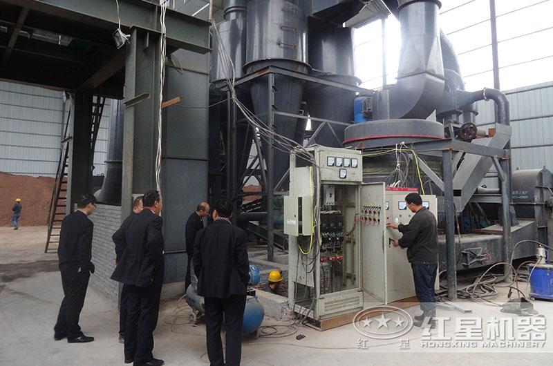 湖南衡阳160吨/天高岭土磨粉生产线