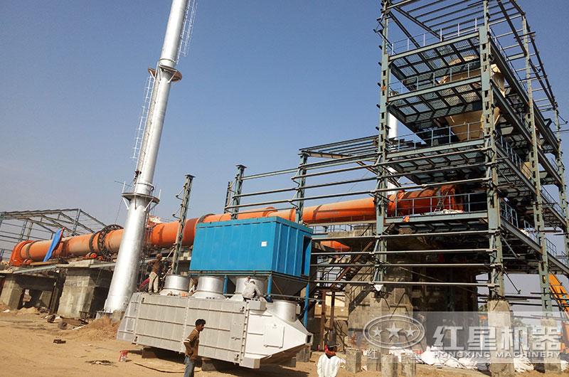 广西玉林时产800干法水泥生产线