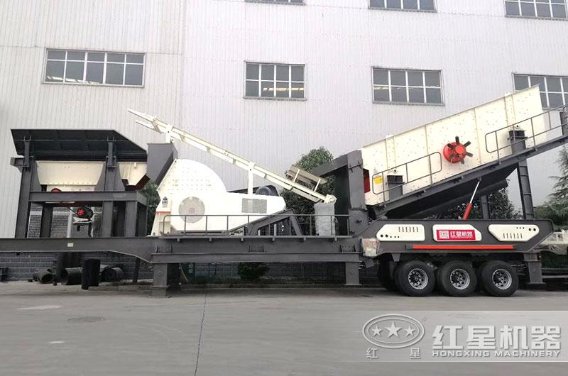 煤炭移动破碎生产线设备