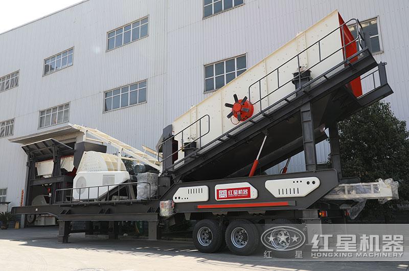 移动式煤矸石制砂机图片
