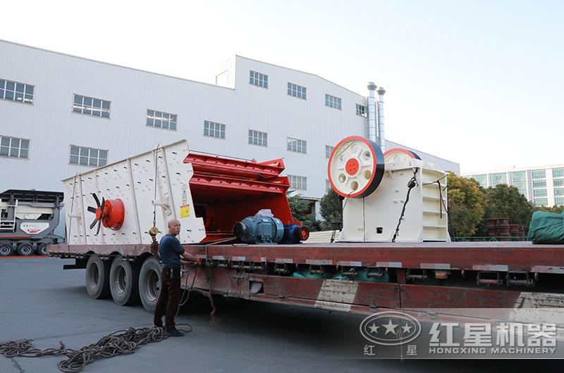 750破碎机设备装车、发货