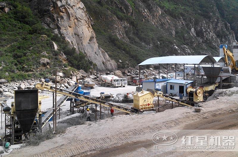 石灰石机制砂生产线