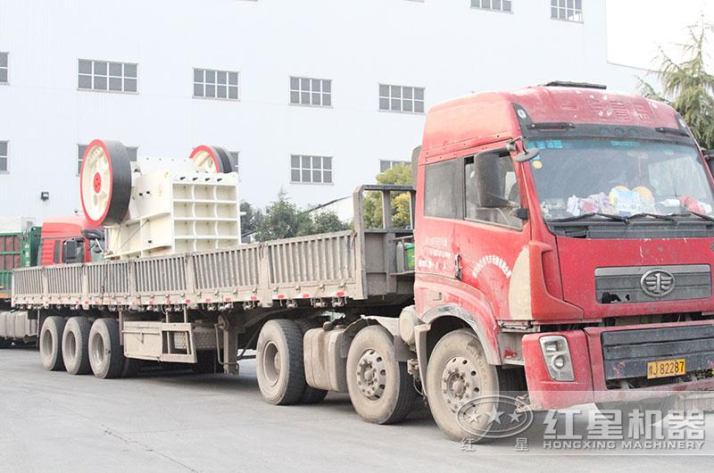 时产500吨沙石料加工设备发货