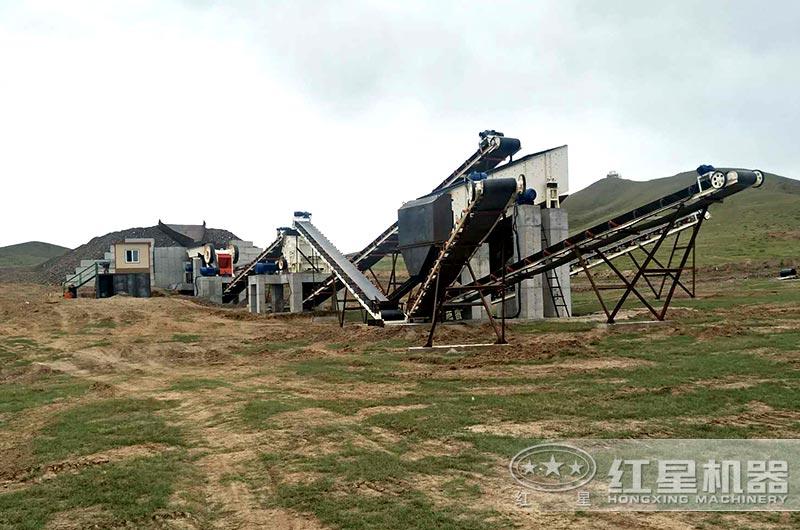 时产300吨砂石细碎生产线