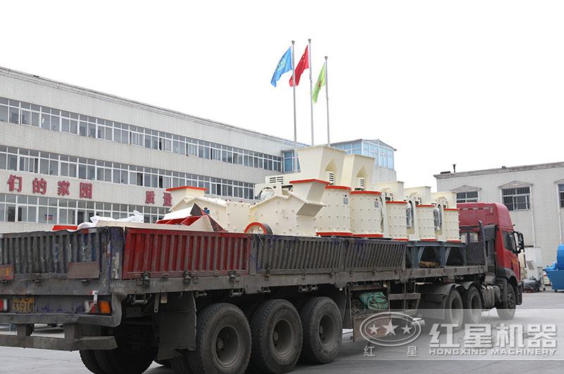 2万到4万小型打沙机设备发货