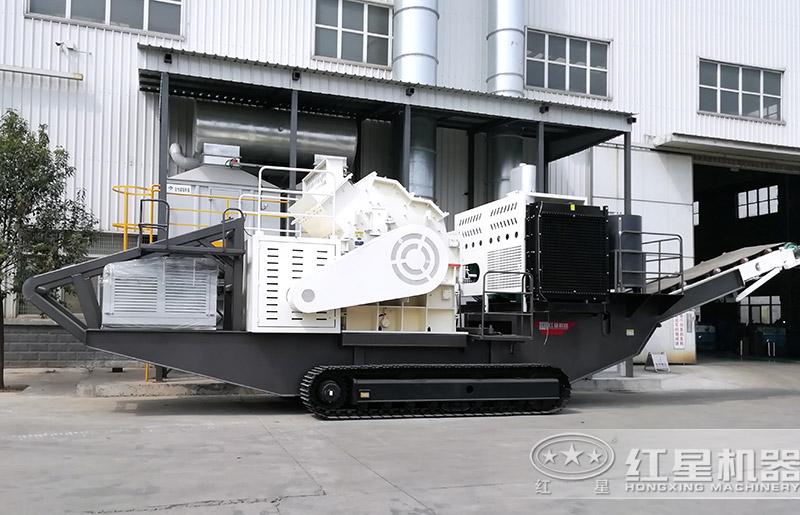 履带式建筑废料制砂机