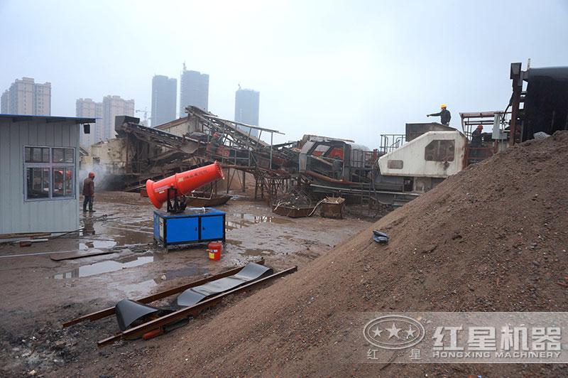 大型建筑废料处理厂