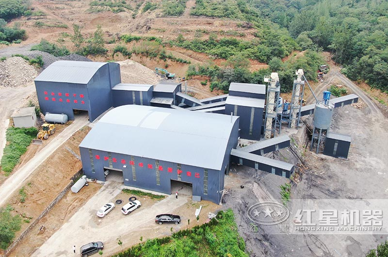 河南登封客户2020年开办环保机制砂厂