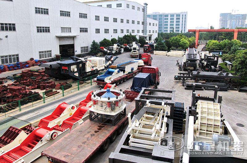 大型碎石机全套设备发货