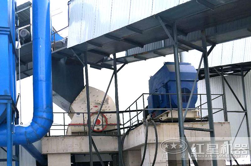 山西客户煤矿破碎机生产线