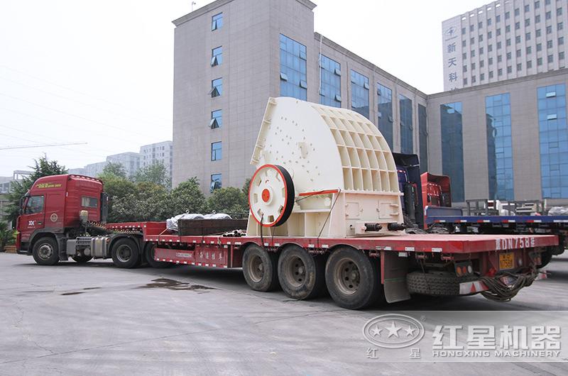 锤式制砂机设备发往广西