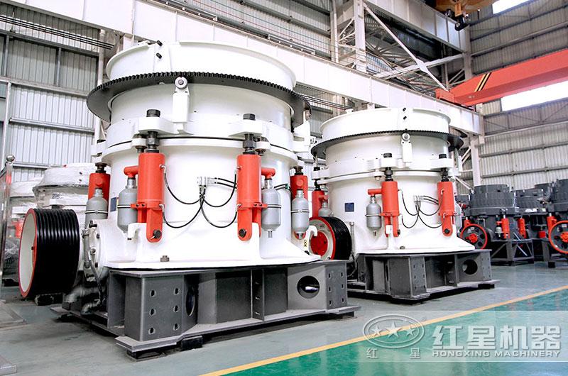 多缸液压圆锥机