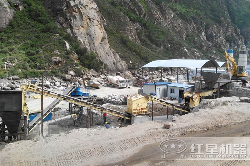 山西客户机制砂生产线