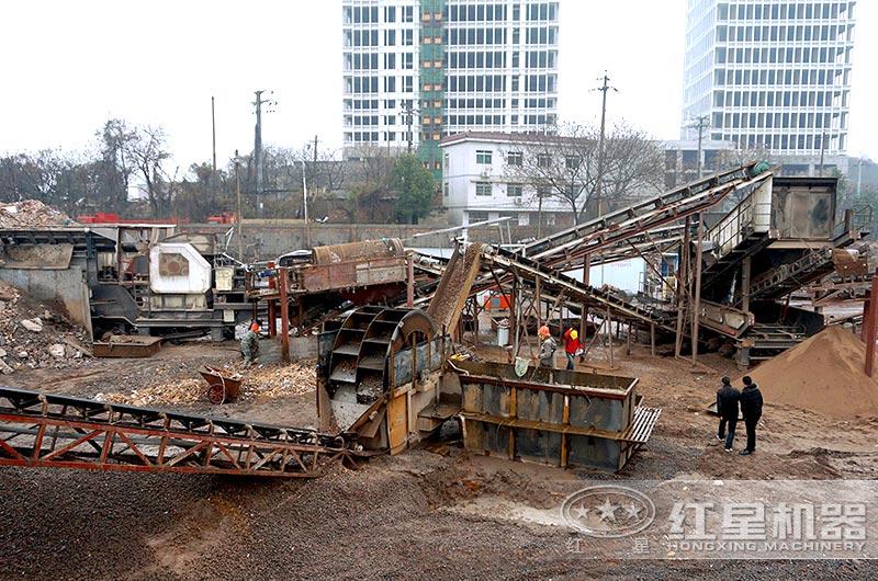 湖南客户建筑垃圾制砂厂